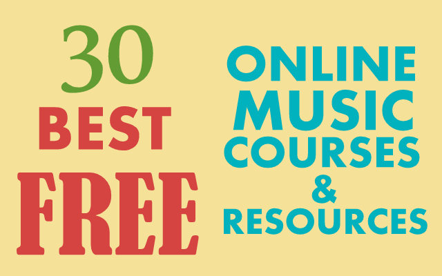 The 30 Best Free Online Music Courses