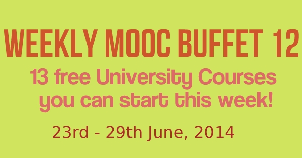 Weekly MOOC Buffet 12