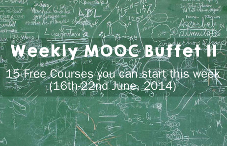 Weekly MOOC Buffet 11