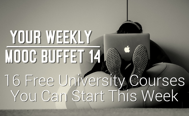 Weekly MOOC Buffet 14