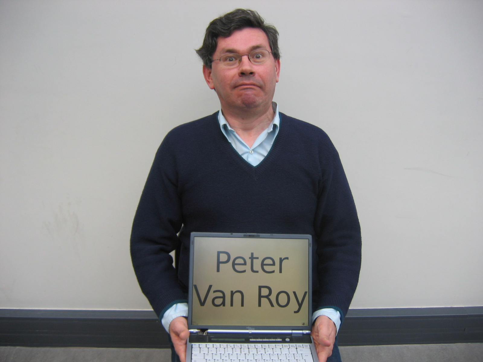 Peter Van Roy teaches a computer science course on different programming paradigms.