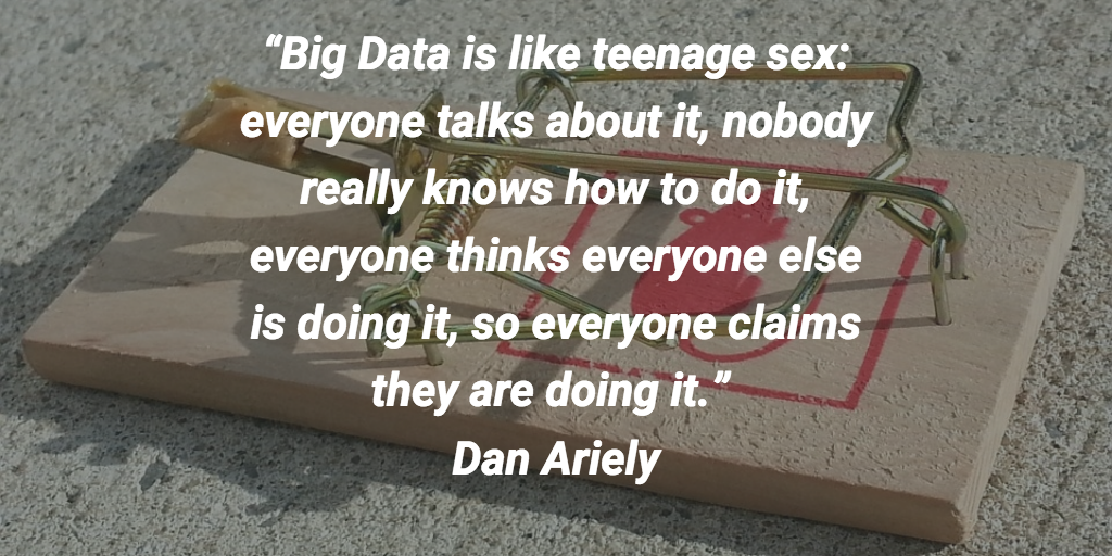 Data quotes on the pitfalls of data