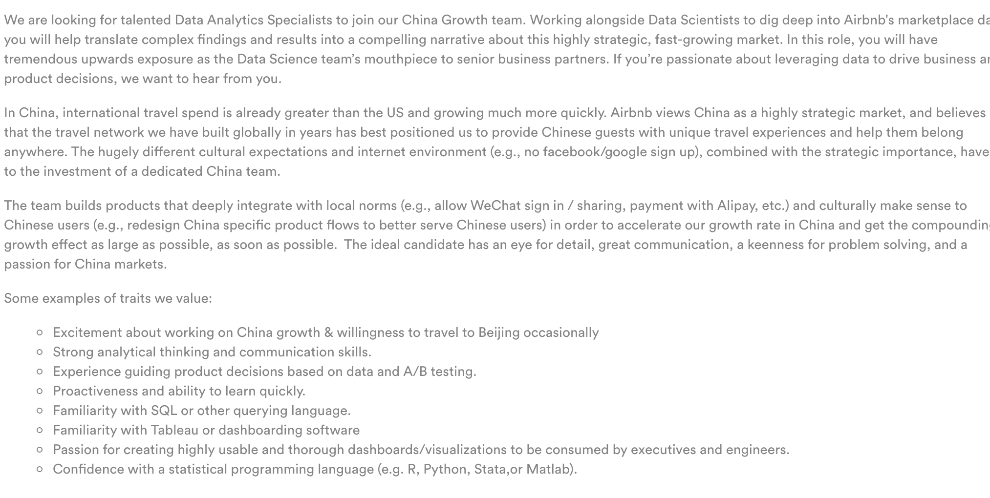 Data Analyst Job Description - Springboard Blog